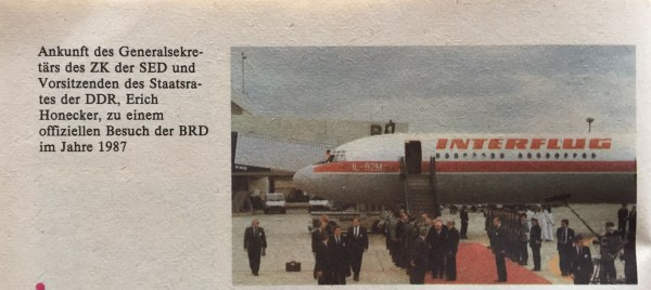 Erich Honecker besucht die BRD