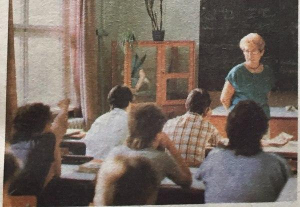 Lehrerin Abgeordnete des Bezirkstages