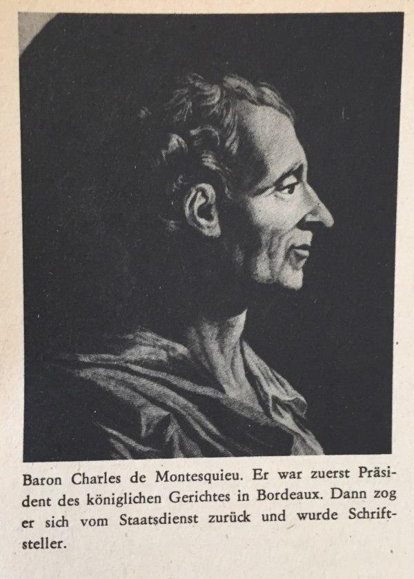 Baron Charles de Montesquieu