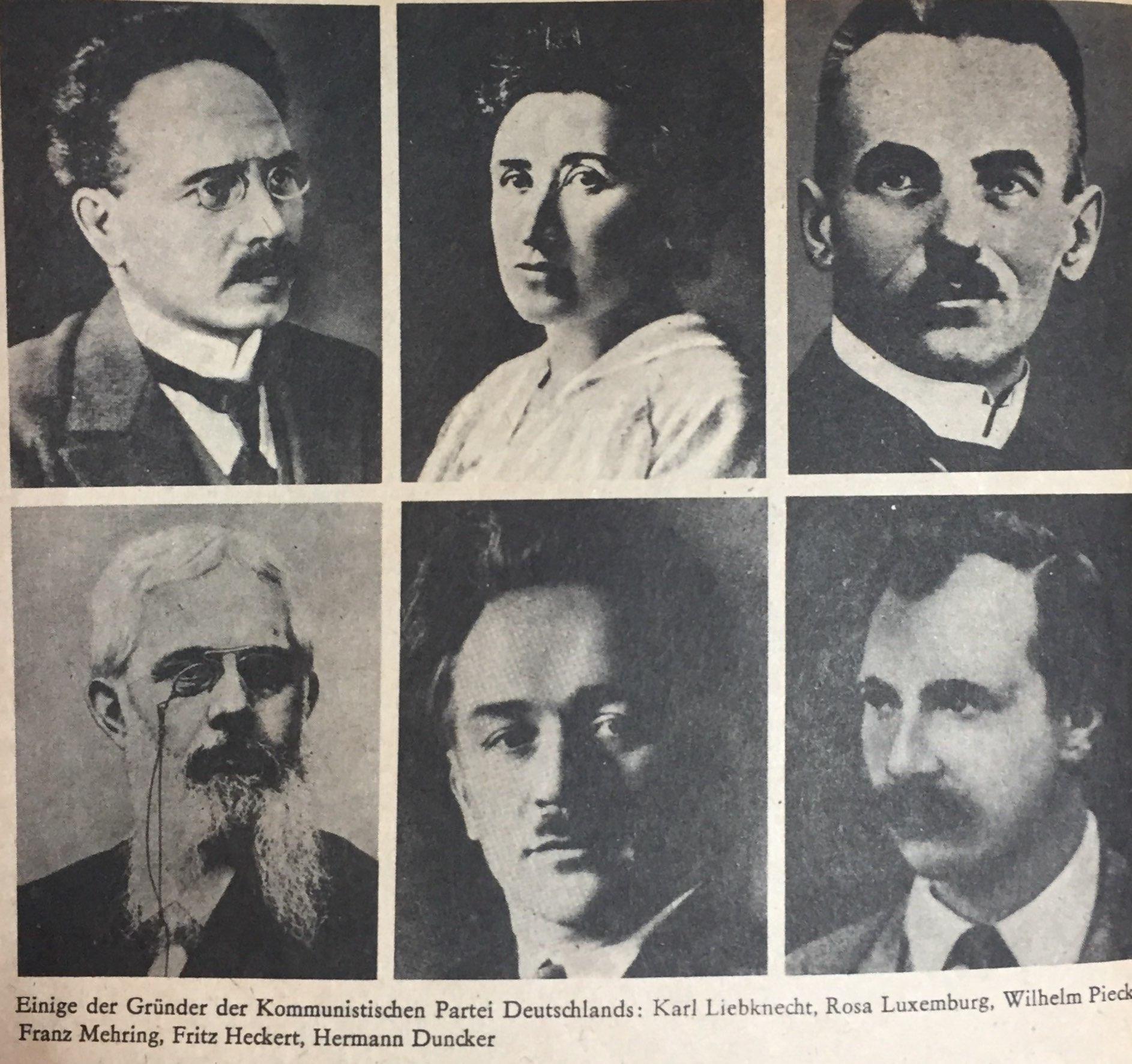 Die Gründung der Kommunistischen Partei Deutschlands(KPD)