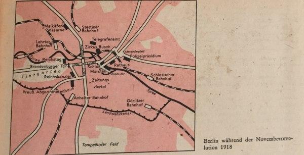berlin während novemberrevolution 1918