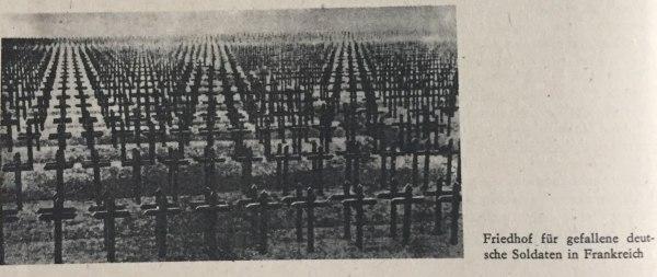 friedhof gefallener deutscher soldaten in frankreich