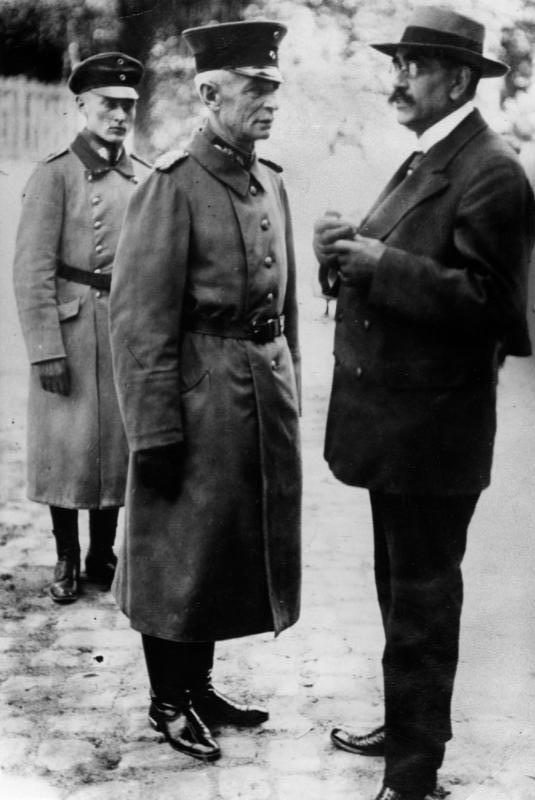 Gustav Noske und Walter Lüttwitz