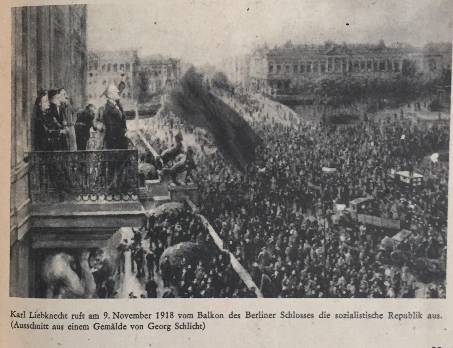 Die Novemberrevolution in Deutschland
