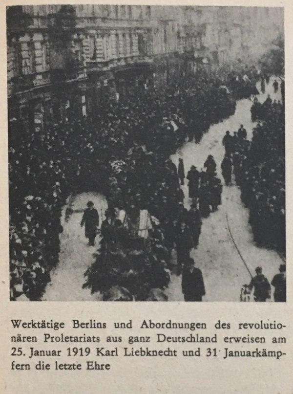 letzte ehre für liebknecht und luxemburg