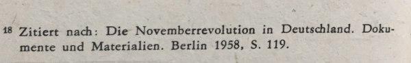 quelle general groener vereinbarung 10.11.1918