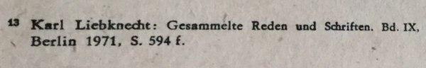 quelle proklamation karl liebknecht 9.11.1918