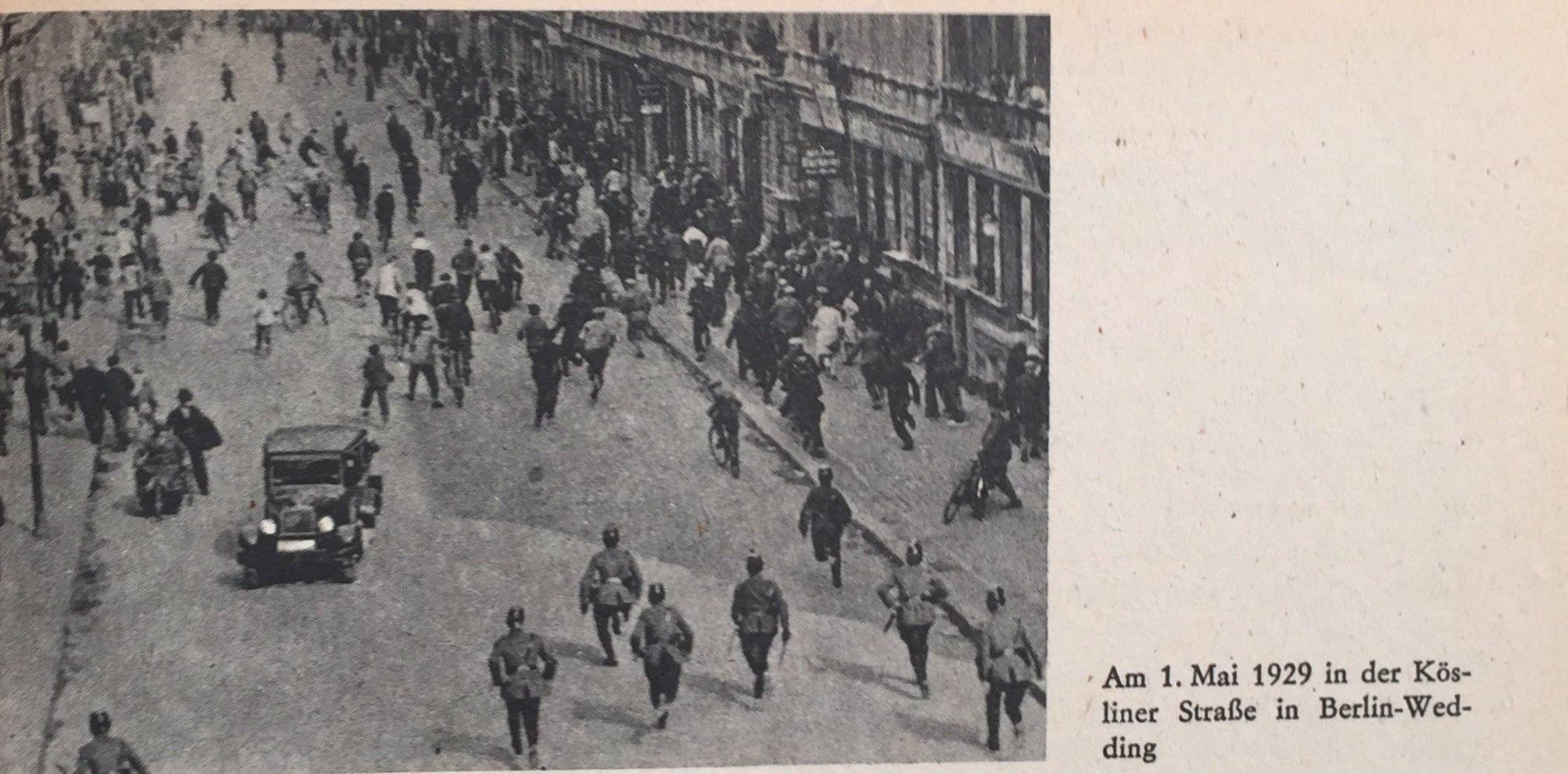 1. Mai 1929 Berlin Wedding
