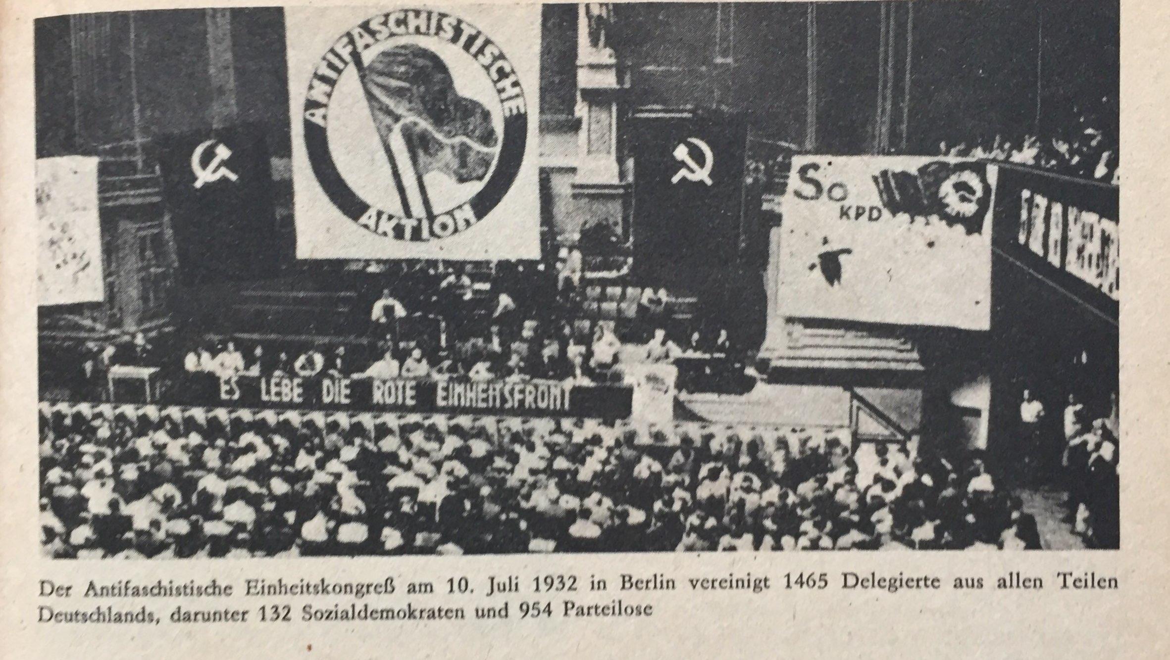 Antifaschistischer Einheitskongress