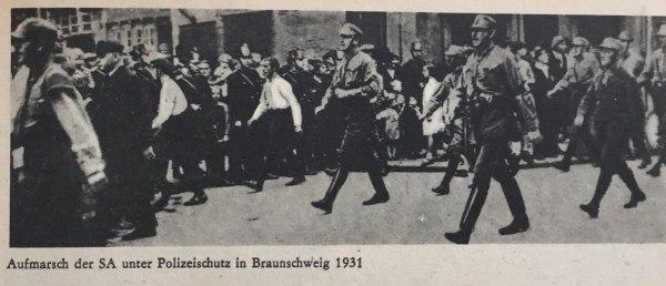 Aufmarsch SA Braunschweig 1931