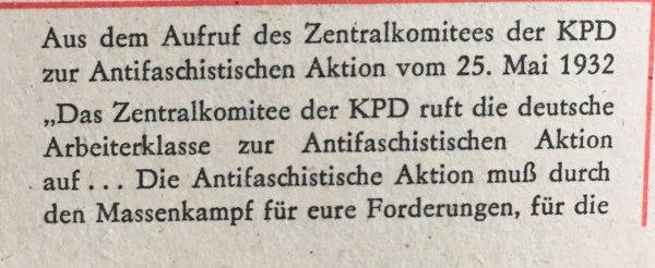 Aufruf ZK KPD 1932 1