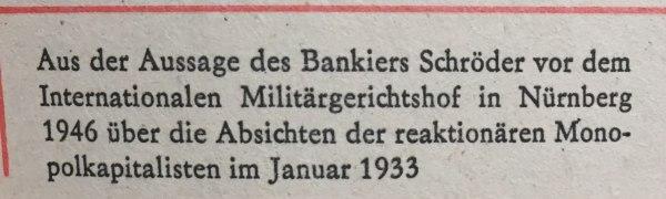 Aussage Bankier Schröder 1