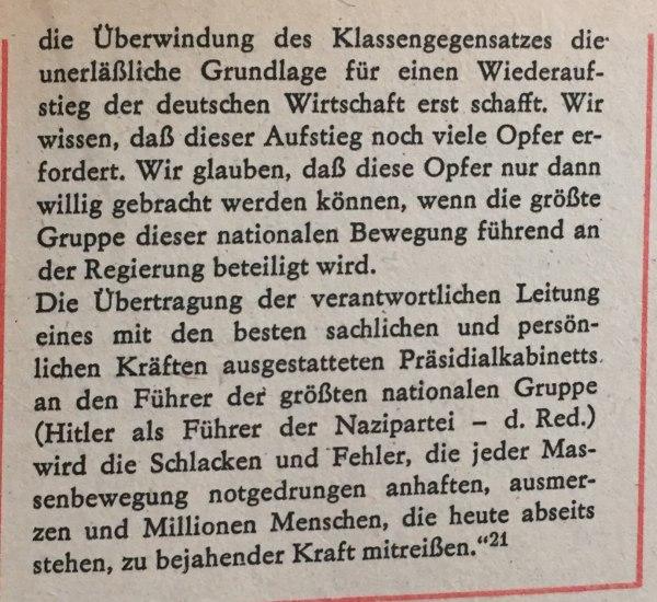 Eingabe an Hindenburg 2