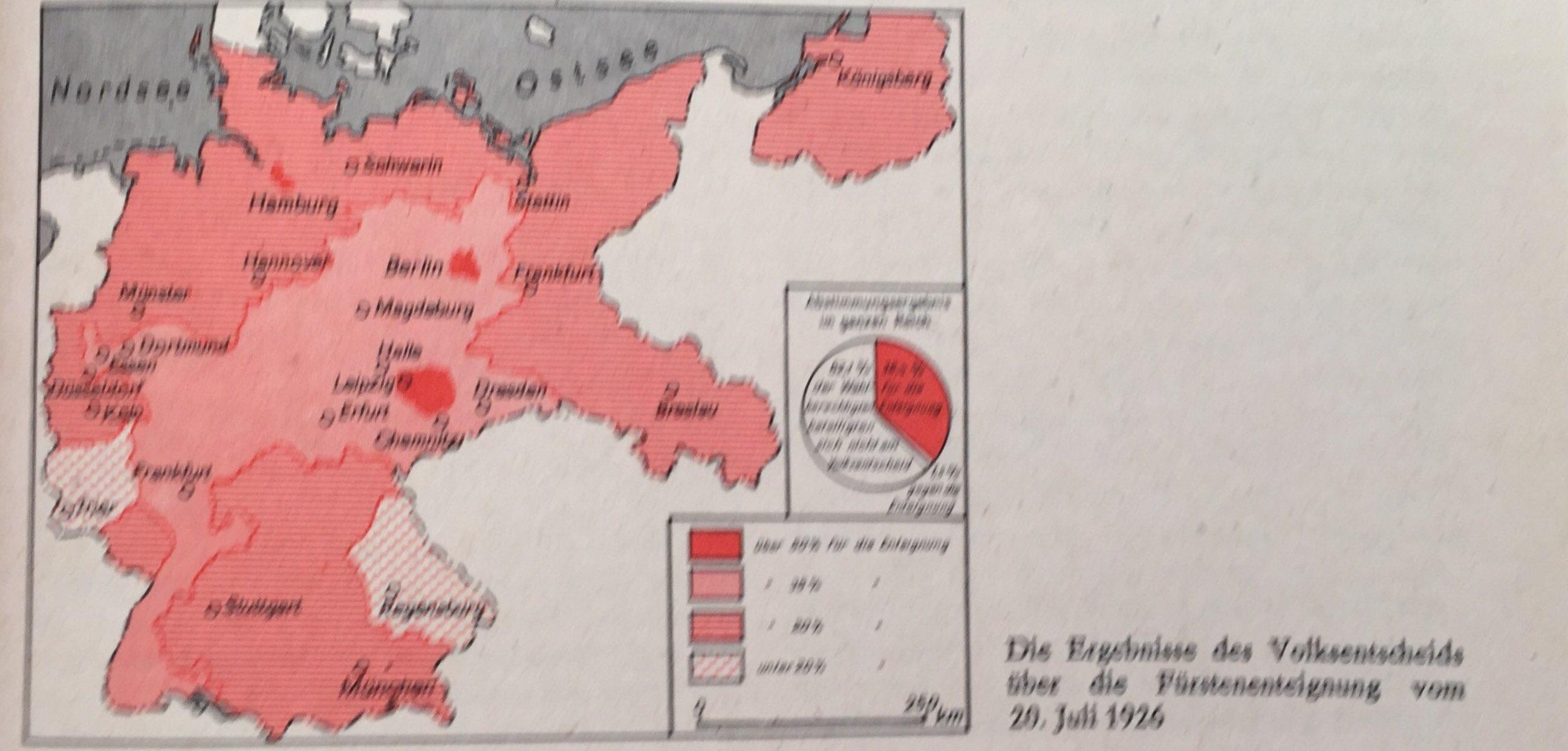 Ergebnisse Volksentscheid 20.Juli 1926