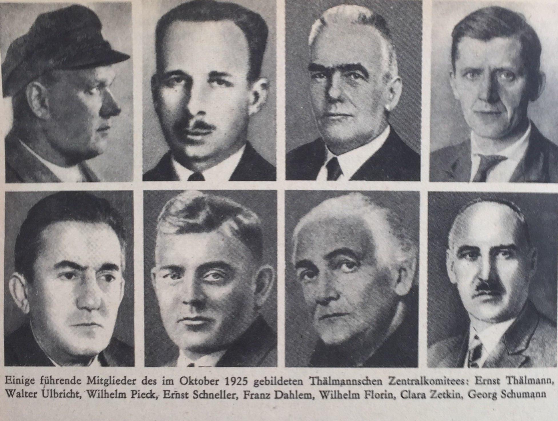 Führende KPD-Mitglieder Oktober 1925