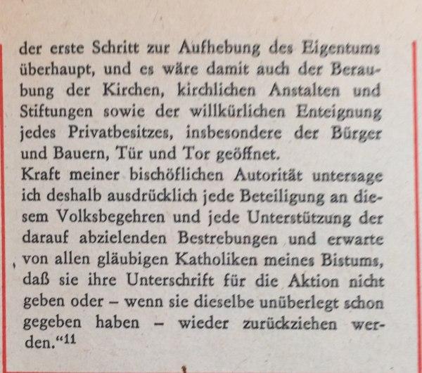 Hirtenbrief Bischof von Passau 2
