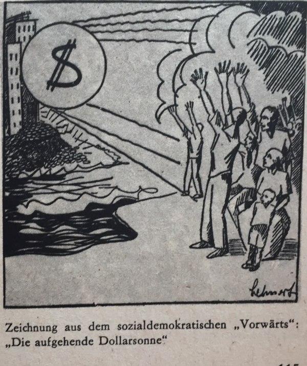 Karikatur Dawesplan