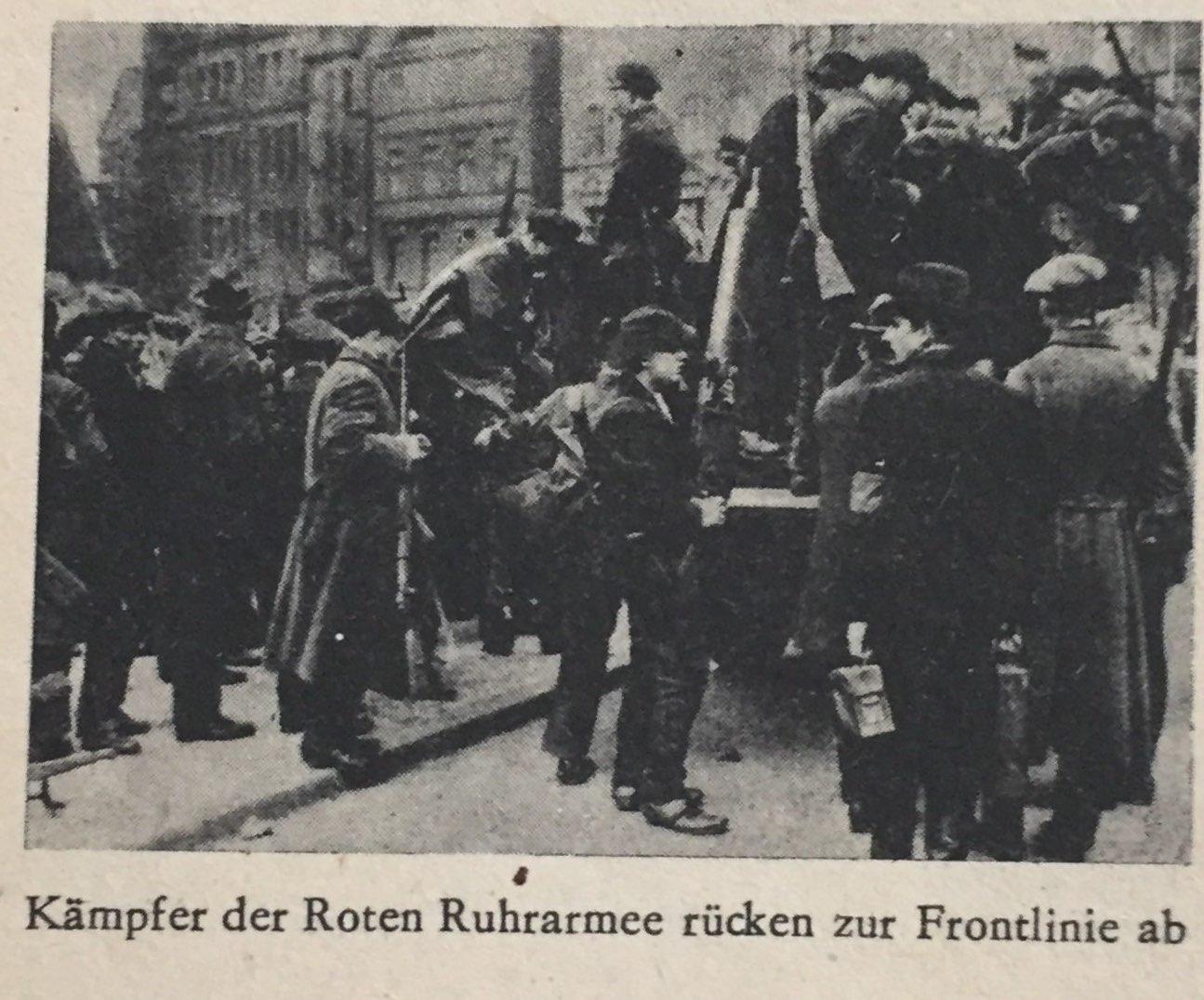 Kämpfer der Roten Ruhrarmee