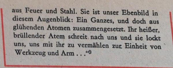 Kriegsverherrlichung Ernst Jünger 2