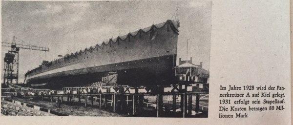 Panzerkreuzer A 1928-1931