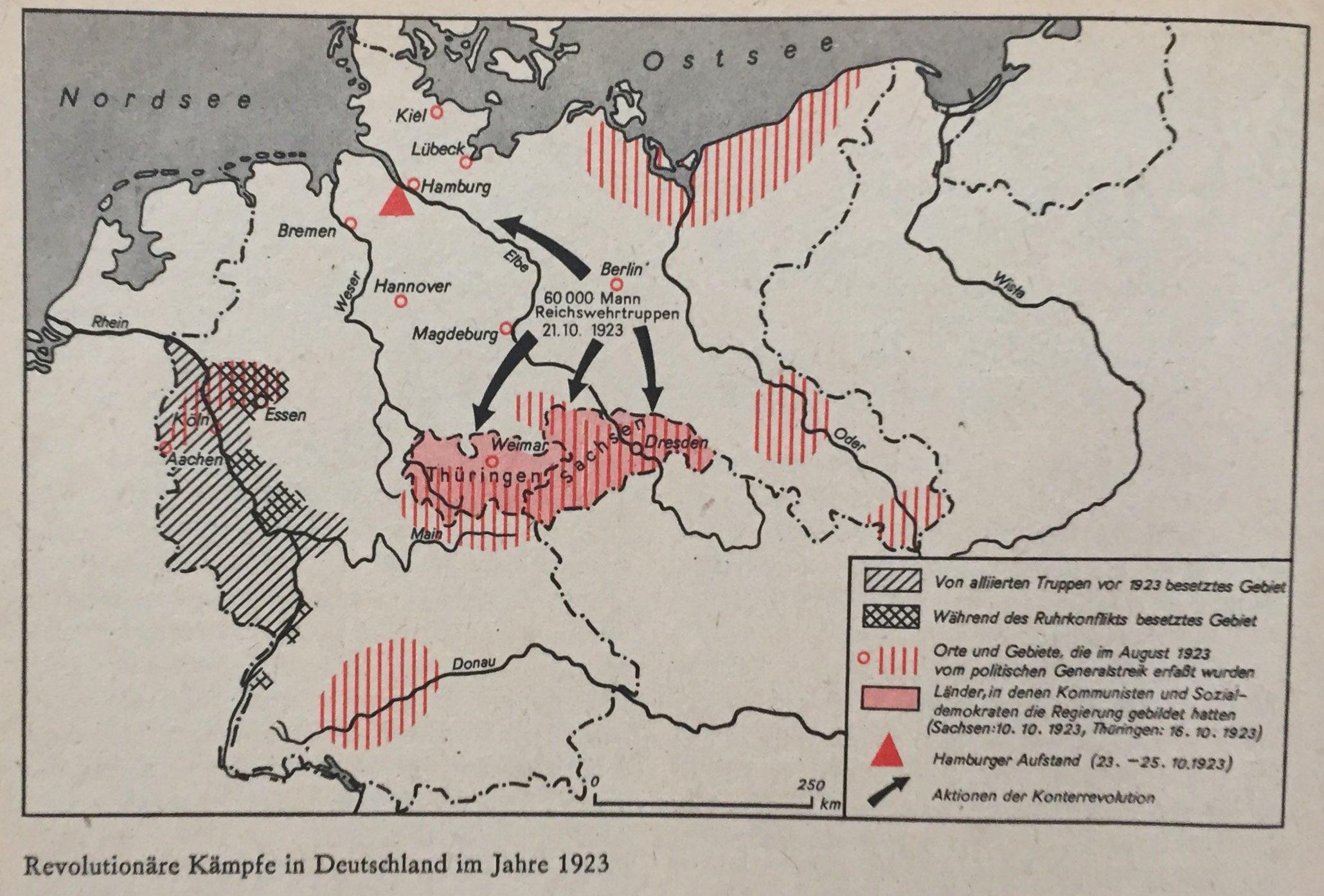 Revolutionäre Kämpfe Deutschland 1923