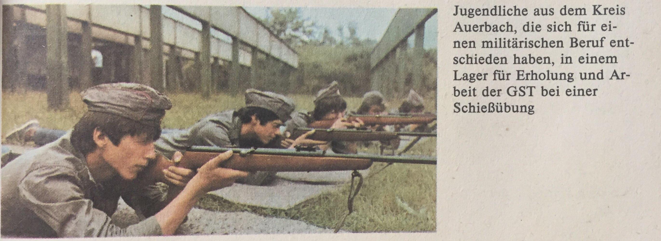 Schießübung bei GST
