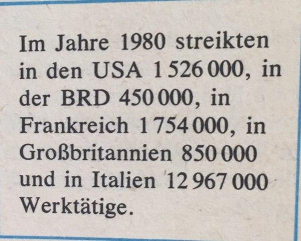 Streiks 1980