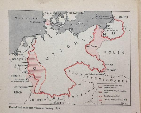 Deutschland nach Versailler Vertrag