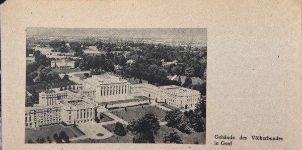 Gebäude des Völkerbundes in Genf