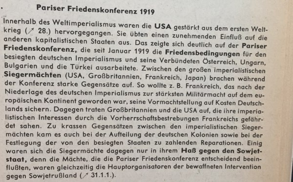 Pariser Friedenskonferenz 1919