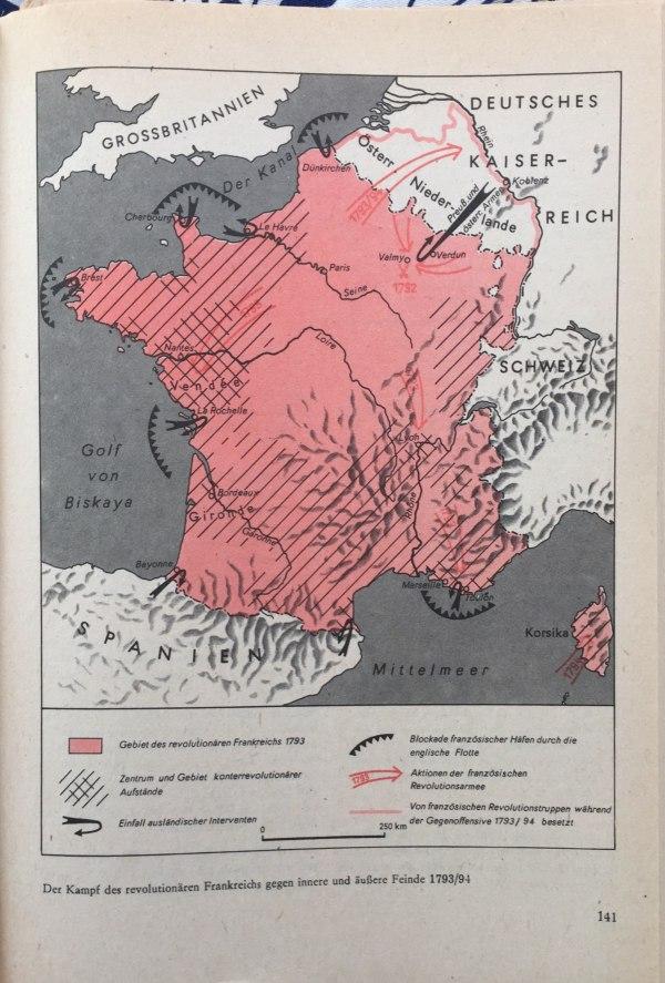 Kampf des revolutionären Frankreich gegen innere und äußere Feinde