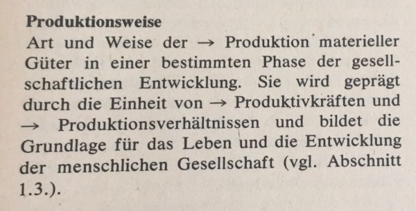 Produktionsweise