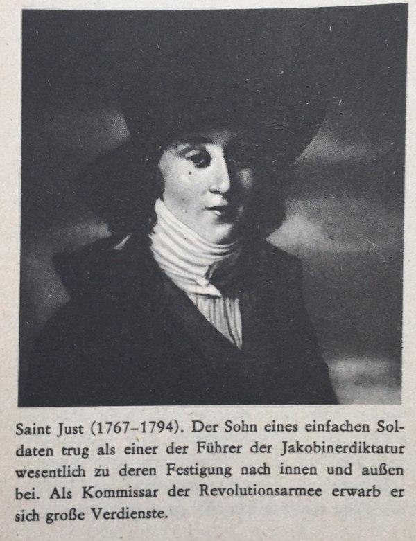 Saint Just(1767-1794)