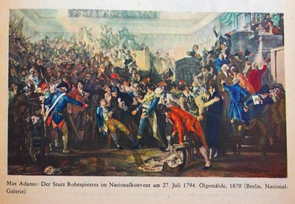 Sturz Robespierres