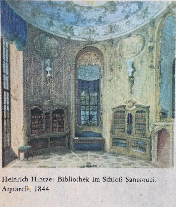 Bibliothek Schloss Sanssouci