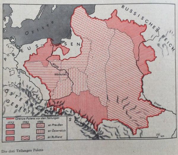 Die drei Teilungen Polens