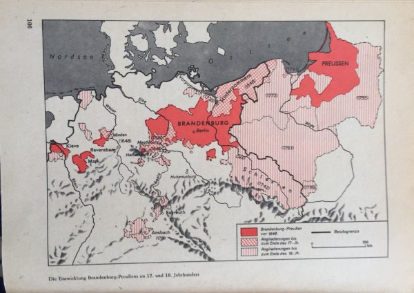 Entwicklung Brandenburg-Preußens im 17. und 18. Jahrhundert
