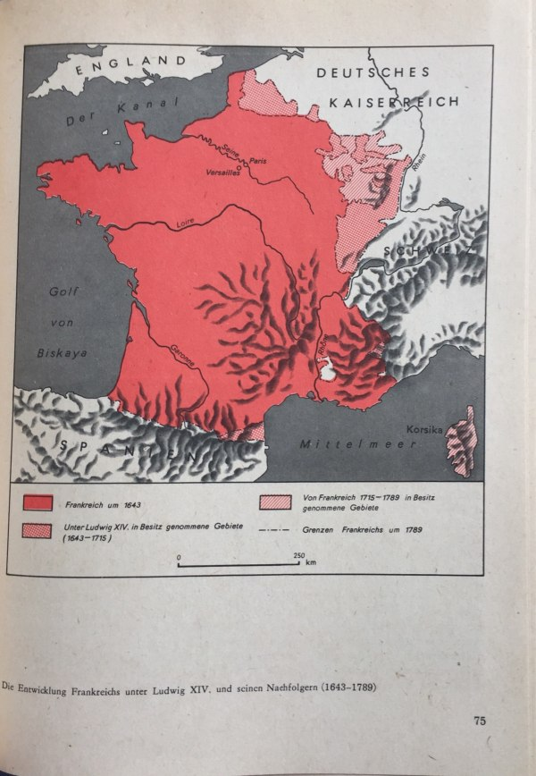 Entwicklung Frankreichs unter Ludwig XIV. und Nachfolgern