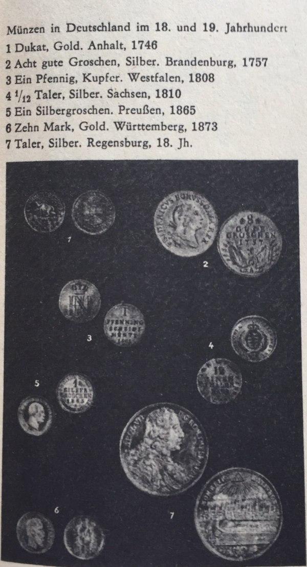 Münzen in Deutschland im 18. und 19. Jahrhundert