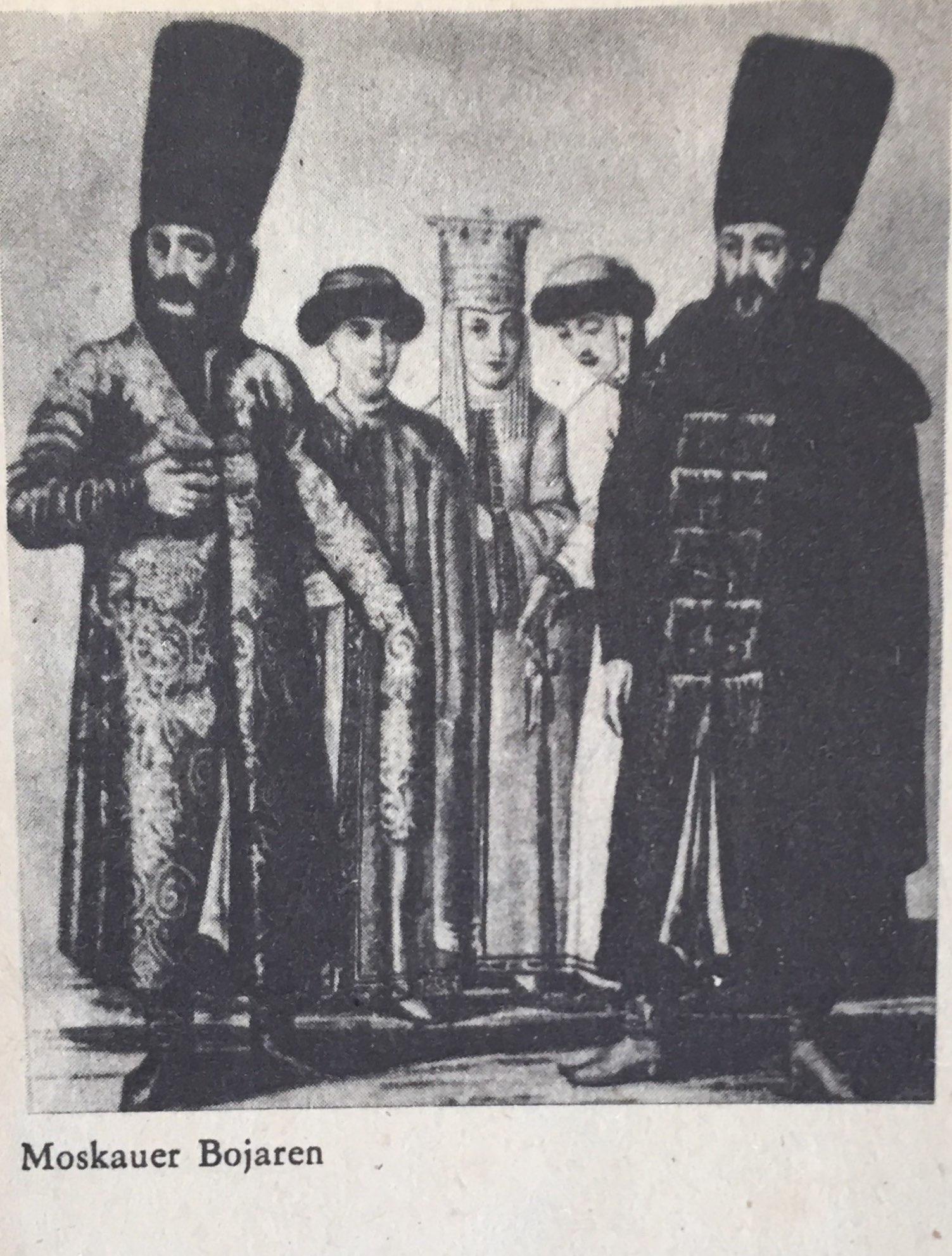 Moskauer Bojaren