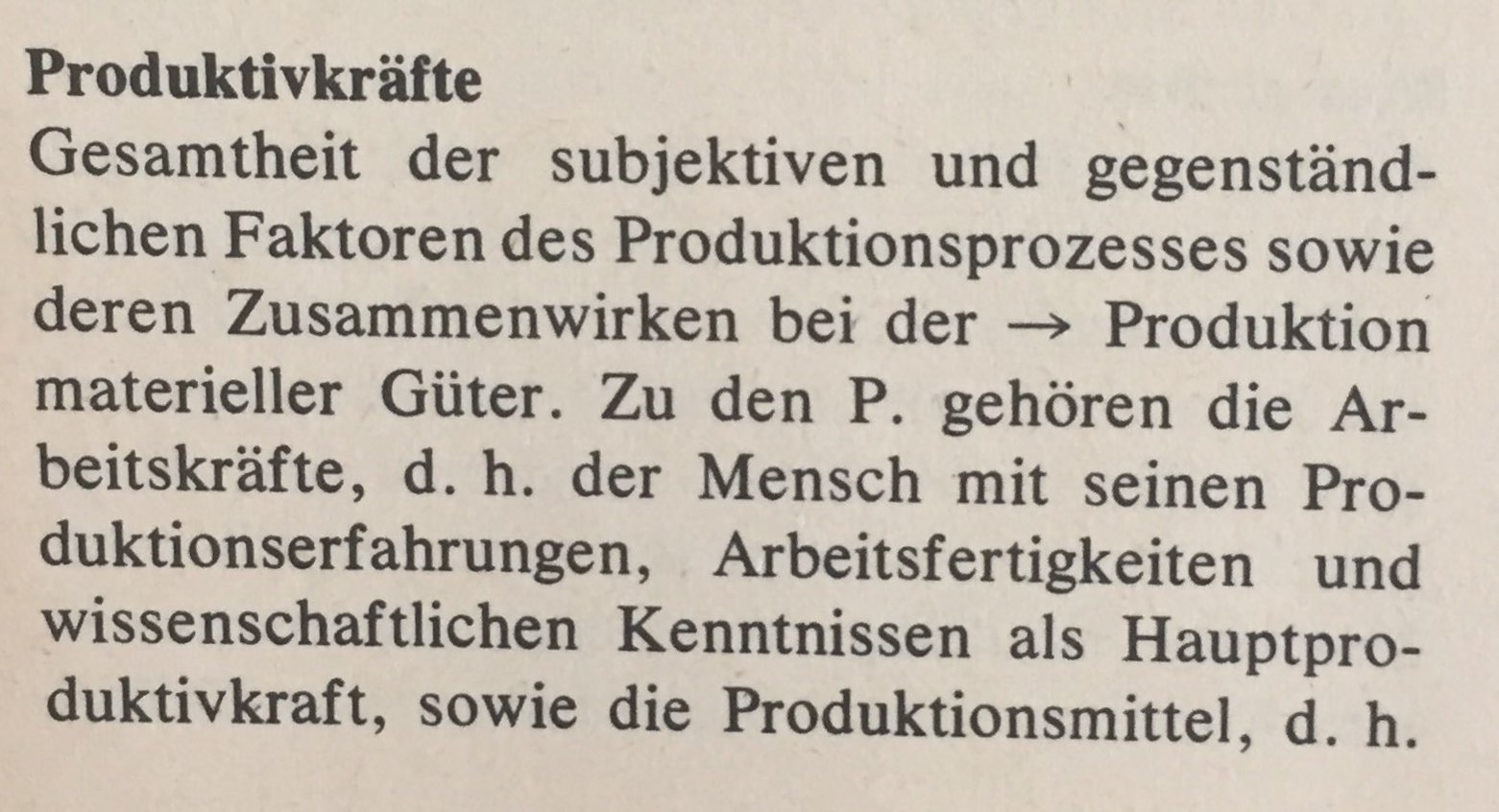 Produktivkräfte 1