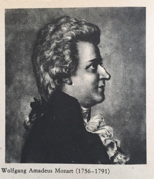 Wolfgang Amadeus Mozart(1756-1791)