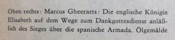 Bildunterschrift Elisabeth I. Dankgottesdienst