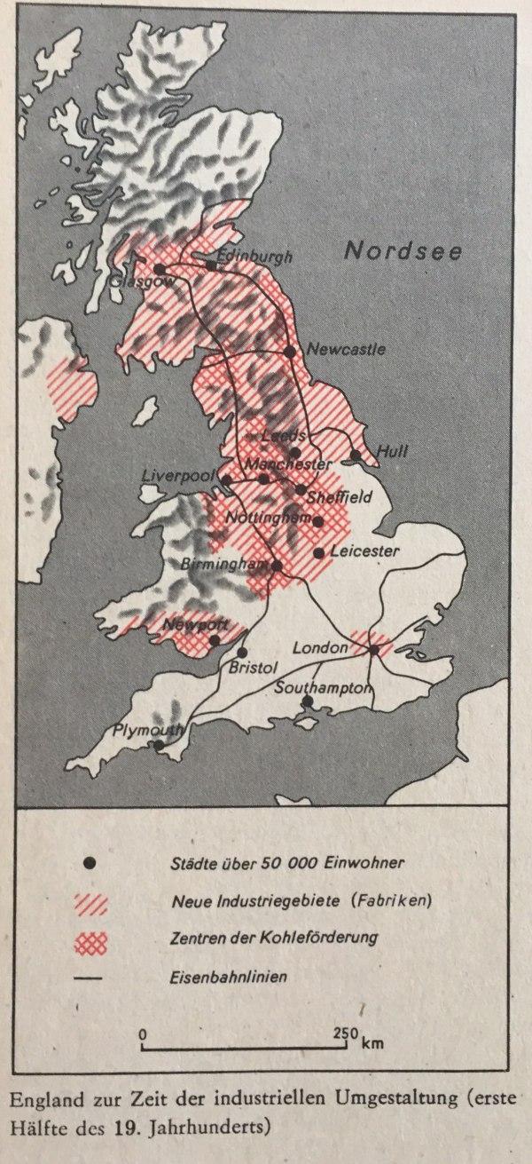 England Zeit der industriellen Umgestaltung