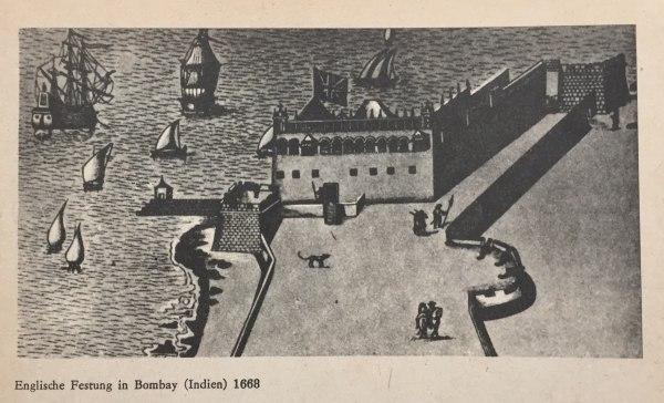 Englischer Festung in Bombay