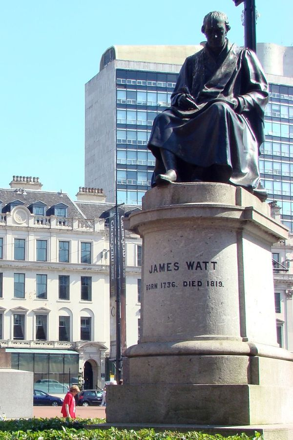 James Watt Denkmal in Glasgow