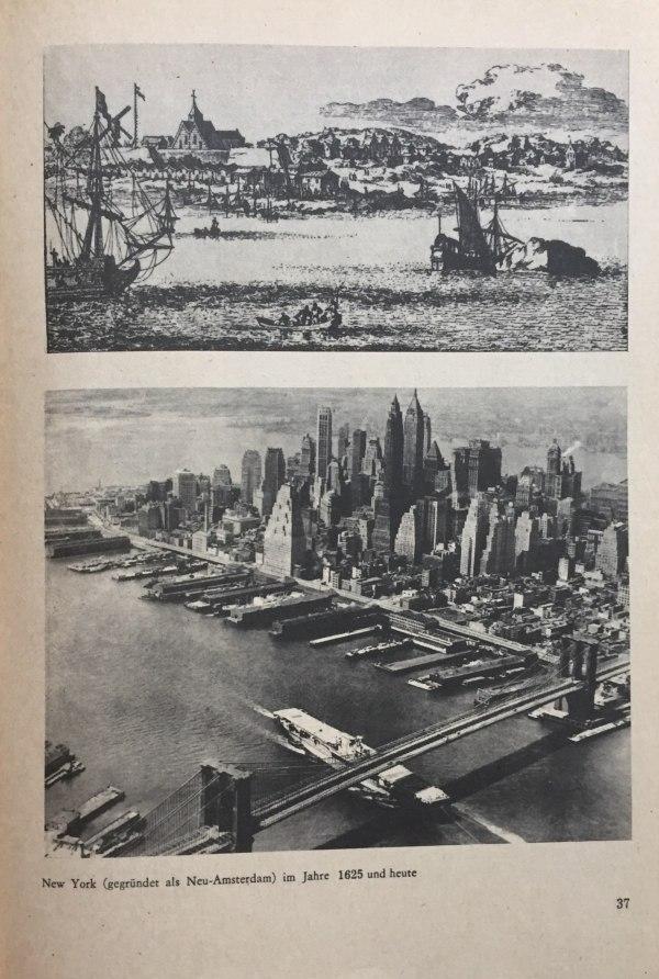 New York 1625 und in den 1980er Jahren