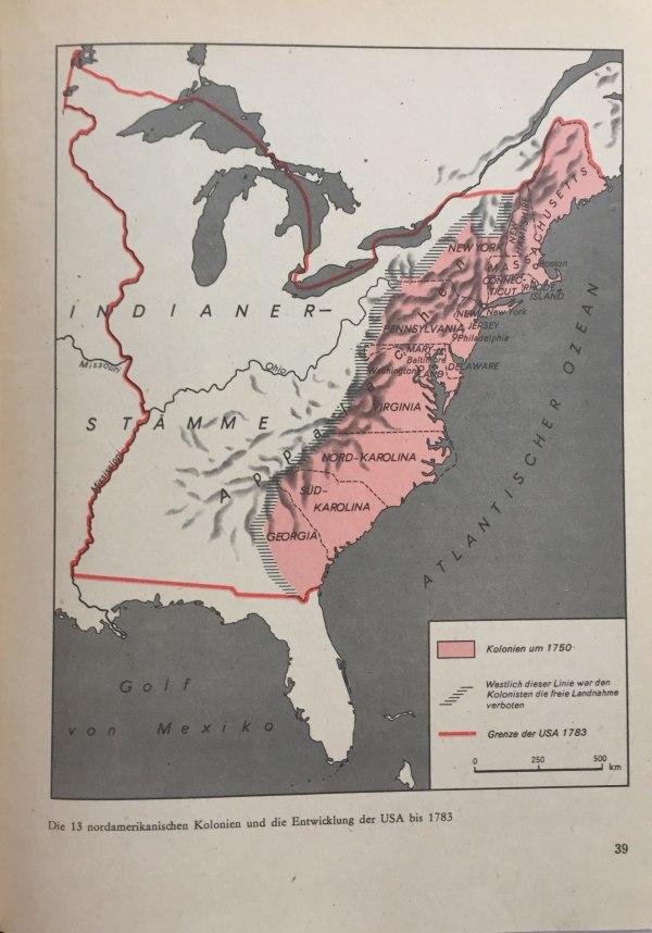 Nordamerikanische Kolonien bis 1783