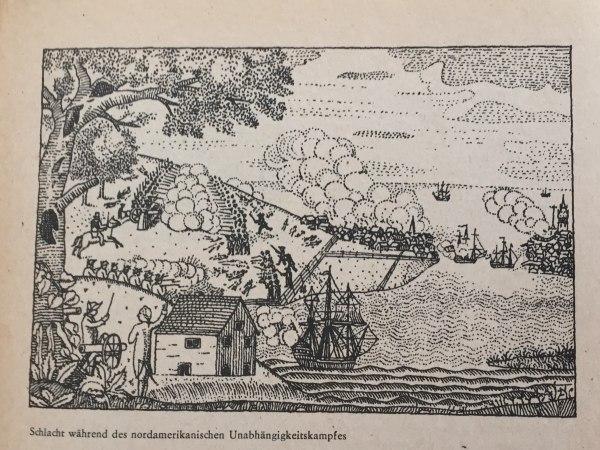 Schlacht nordamerikanischer Unabhängigkeitskrieg