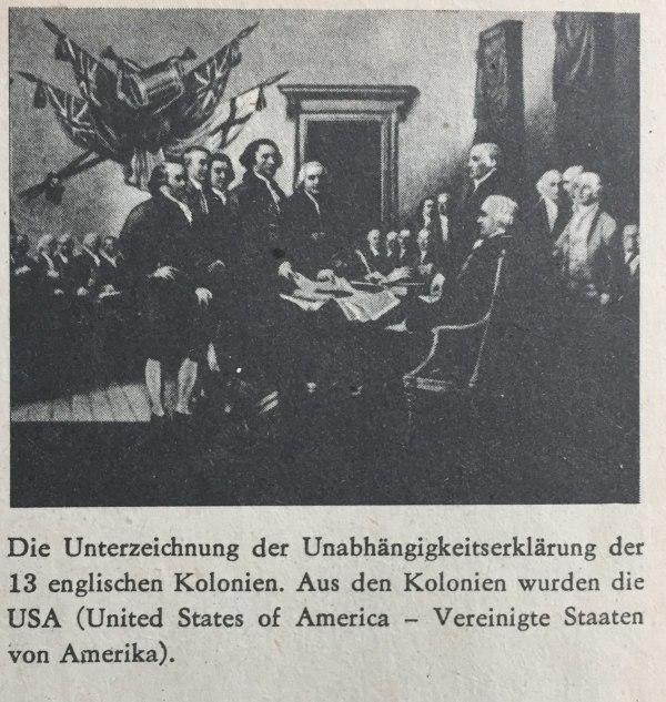 Unterzeichnung der Unabhängigkeitserklärung